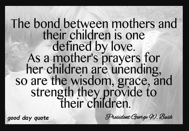 bond betwween mother and child quotes