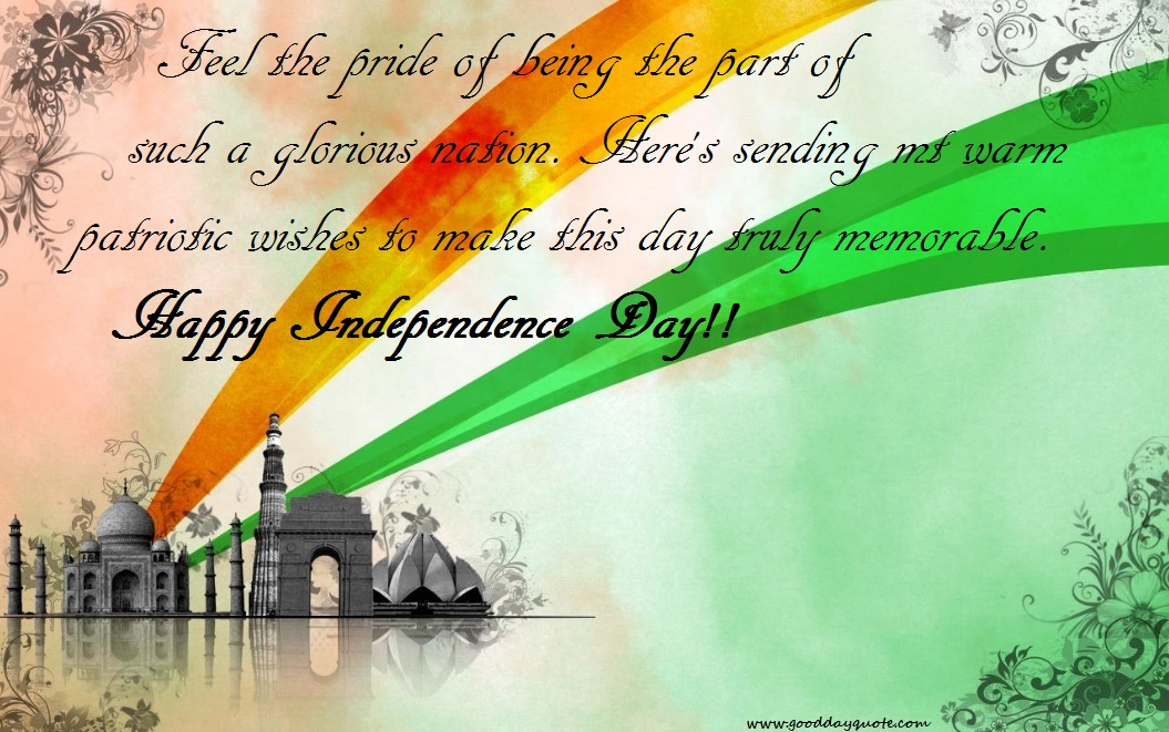 independence day greetings messages