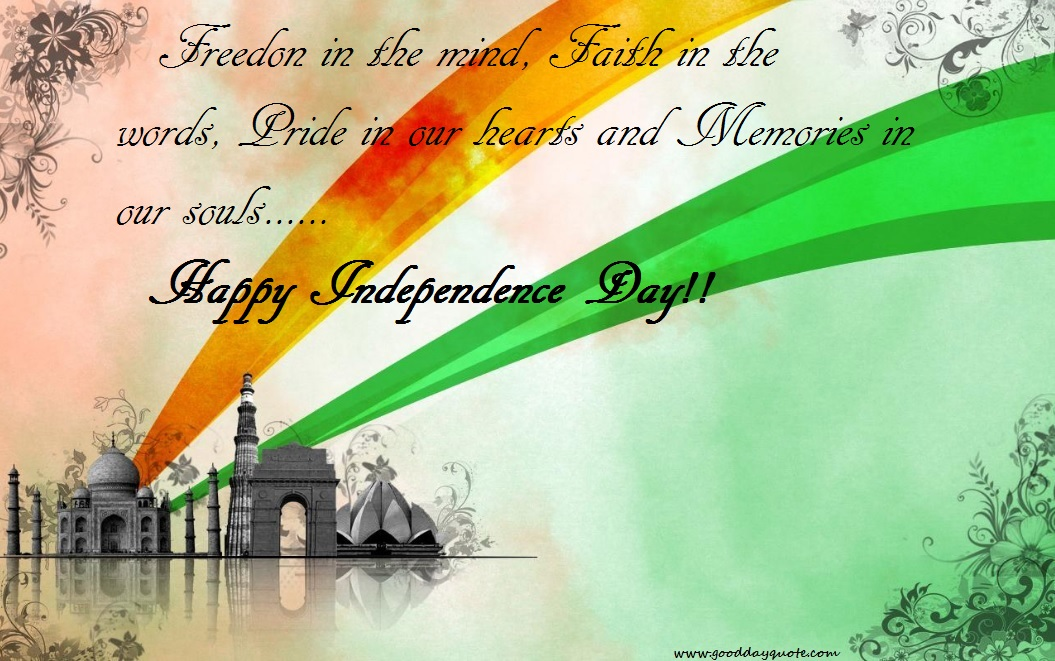 independence greetings