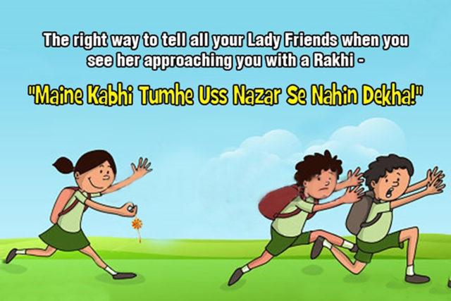 Funny Raksha Bandhan Status in hindi