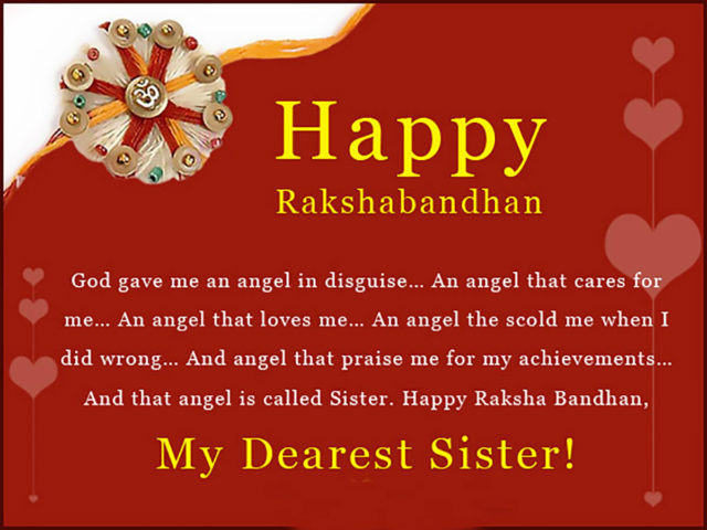 Happy Rakhi Quotes For Sister