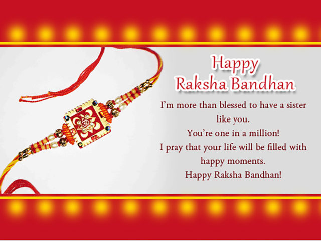 Happy Rakhi Wishes For Sister Images