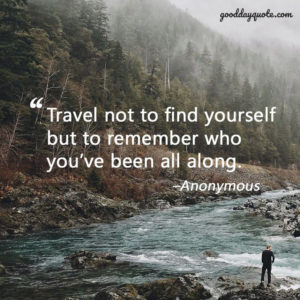 Best Quotes About Travelling Alone