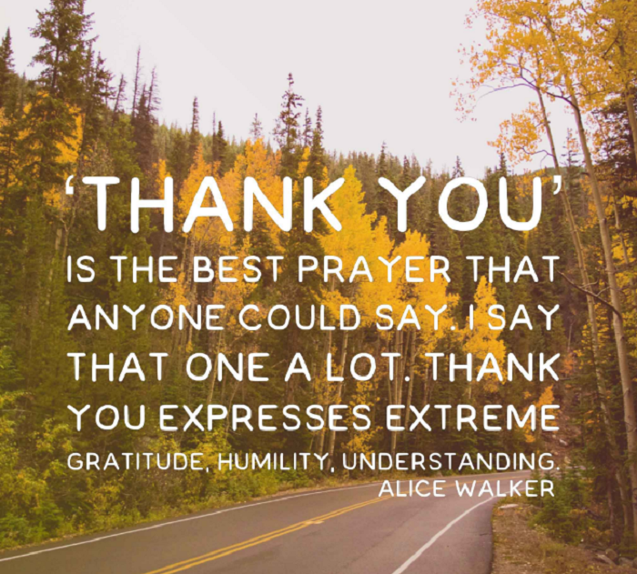 famous gratitude quotes and sayings