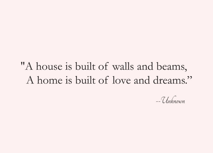 beautiful home quotes